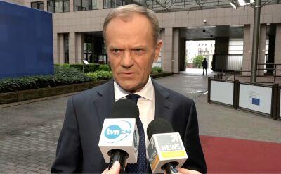 Donald Tusk o wyborach do Parlamentu Europejskiego. Cała rozmowa