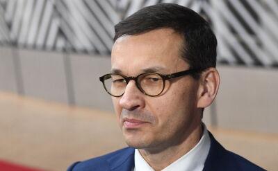 Morawiecki: chcemy, żeby nowe rozdanie w Brukseli służyło budowie silnej Unii Europejskiej