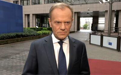 Donald Tusk o wynikach wyborów do Parlamentu Europejskiego