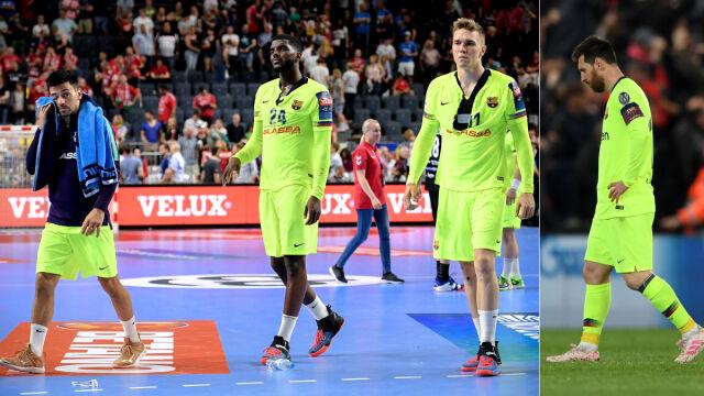 ad89e20b3 Piłkarze ręczni Barcelony jak nożni. Macedończycy wzięli przykład z  Liverpoolu