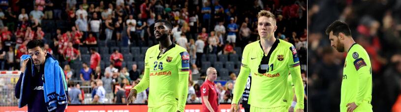 Piłkarze ręczni Barcelony jak nożni. Macedończycy wzięli przykład z Liverpoolu