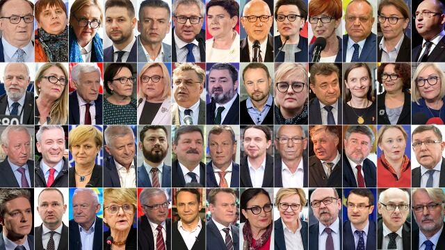 Oni zdobyli mandaty. Pełna lista polskich europosłów