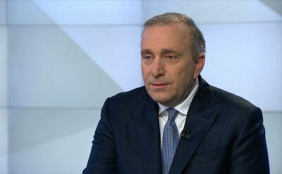 Grzegorz Schetyna: trzeba wyciagnąć wnioski z tego co sie stało