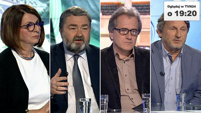 """Julia Pitera, Karol Karski, Cezary Michalski i Zbigniew Janas będągośćmi """"Faktów po Faktach"""""""