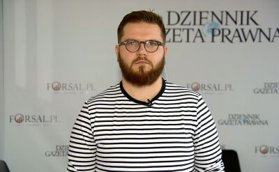 Cała rozmowa z dziennikarzem DGP Bartłomiejem Godusławskim