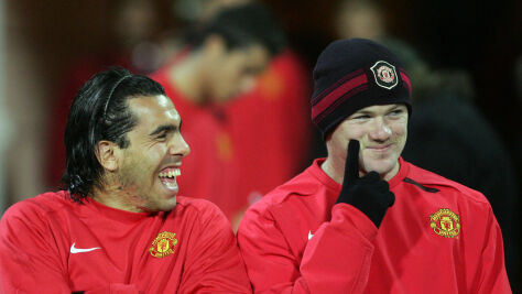 """Tevez wspomina hojność Rooneya. """"Jeździłem jego autem bez rejestracji"""""""