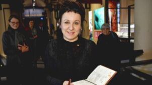 Olga Tokarczuk wygłosi dzisiaj odczyt noblowski
