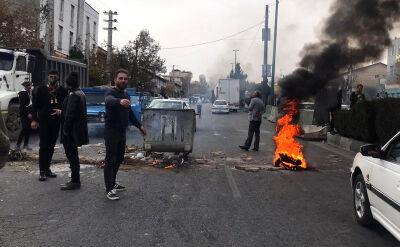 Ponad 300 ofiar protestów w Iranie