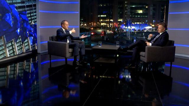 Donald Tusk: ludzie nie oddają władzy, ludzie tracą władzę