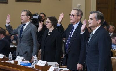 Przesłuchanie ekspertów prawa przed Kongresem