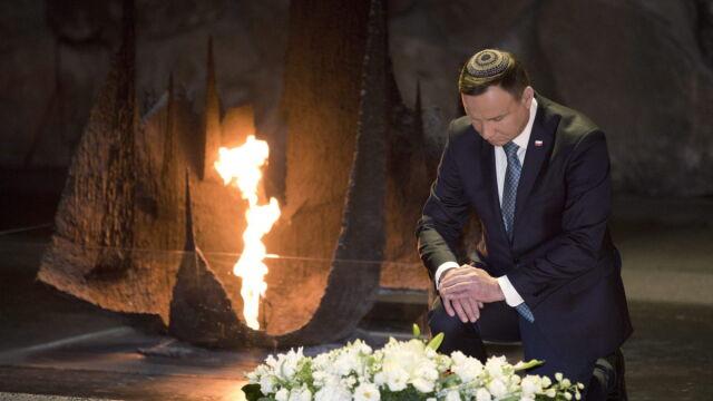 Prezydent Andrzej Duda z wizytą w Yad Vashem. 17 stycznia 2017