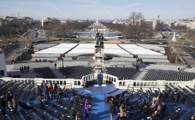 """Ostatnie przygotowania do inauguracji Trumpa. Był tam korespondent """"Faktów"""" TVN"""