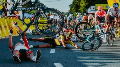 Ukarany kolarz bierze na siebie winę.