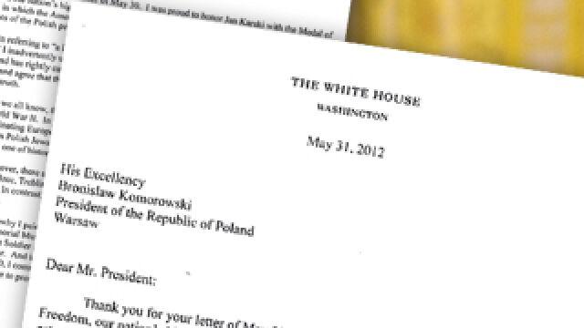 """""""Dear Mr. President, I regret the error """". Przeczytaj, co pisze Obama"""