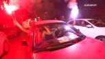 Kino samochodowe na ratunek kibicom. Ogromne emocje podczas meczu Sparty z Viktorią