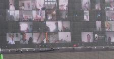 Tysiące kibiców obejrzało mecz Aarhus - Randers poprzez... wideokonferencję