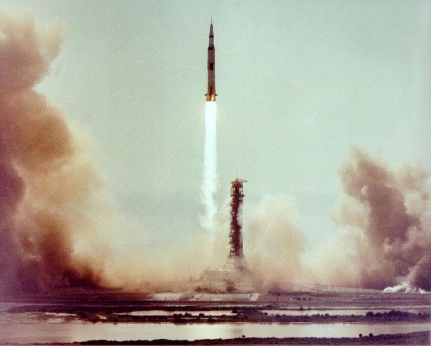 Start Apollo 11. 16 lipca 1969