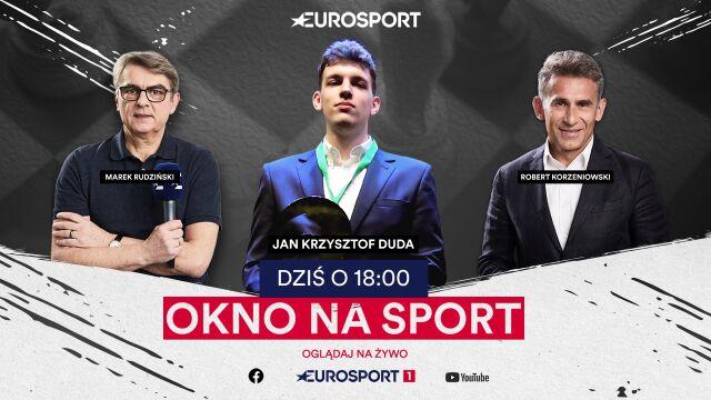 """Wirtuoz szachów Jan-Krzysztof Duda gościem """"Okna na sport"""""""