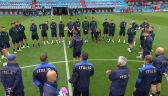 Przygotowania reprezentacji Włoch do meczu z Belgią w ćwierćfinale Euro 2020