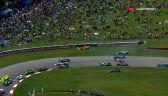 Wypadek na początku wyścigu Indy 200 na Mid-Ohio