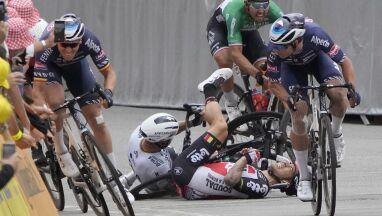 Liczba kraks na Tour de France go nie dziwi.