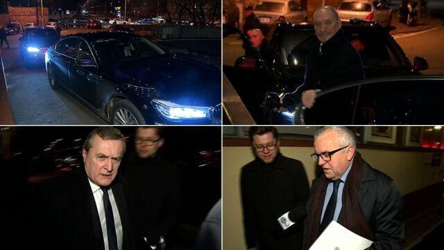 Spotkanie kierownictwa PiS z prezesem Kaczyńskim na Nowogrodzkiej