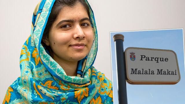 Malala ma park swojego imienia