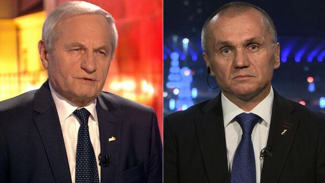 """Gen. Stanisław Koziej i gen. Roman Polko byli gośćmi """"Faktów po Faktach"""" TVN24"""