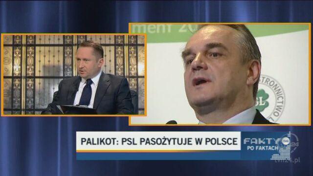 Palikot: Likwidacja PSL byłaby wskazana