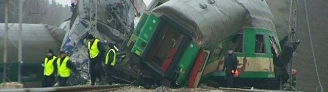 Prokuratura: załoga pociągu była trzeźwa