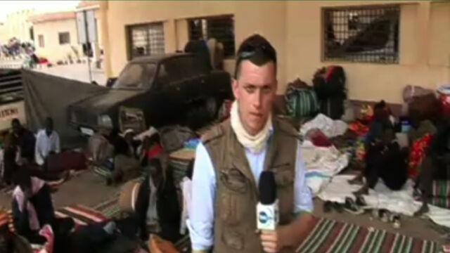 Relacja specjalnego wysłannika TVN24 Wojciecha Bojanowskiego z Libii