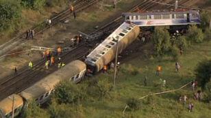 Relacje pasażerów pociągu (TVN24)