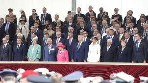Przywódcy 16 państw, 300 weteranów.  75. rocznica lądowania w Normandii
