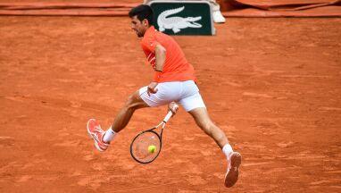 Najlepsze akcje 12. dnia French Open. Djoković razy dwa