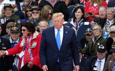 Trump w hołdzie aliantom