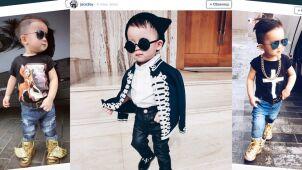 Ponad 40 tysięcy osób śledzi jego stylizacje. Dwuletni Jacob podbija Instagram
