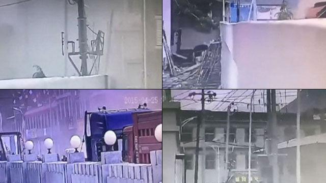Trzęsące się domy, pył w powietrzu. Nagranie z drugiej strony Himalajów