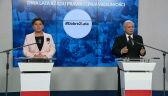 Kaczyński: chciałem podziękować pani premier, która pracowała w trudnych warunkach