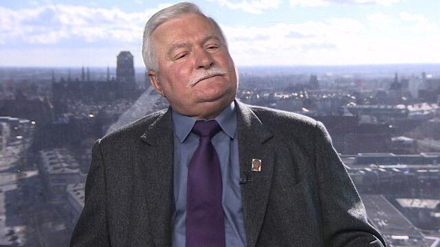 """Lech Wałęsa był gościem """"Faktów po Faktach"""""""