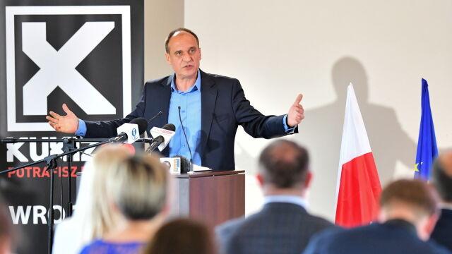 Paweł Kukiz we Wrocławiu na regionalnej konwencji swego ugrupowania