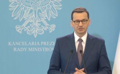 Premier Morawiecki o zmianach zaostrzających odpowiedzialność karną za akty pedofilskie