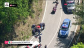 Koniec Giro d'Italia dla De Marchiego. Włoch przetransportowany do szpitala