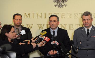 Sienkiewicz: Policja jest dobrze przygotowana na wyjście T.