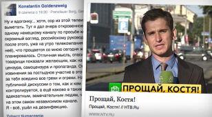 Skrytykował Putina, stracił pracę. Rosyjska telewizja zwolniła dziennikarza