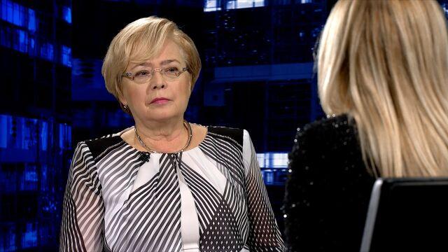 """Małgorzata Gersdorf była gościem """"Kropki nad i"""""""