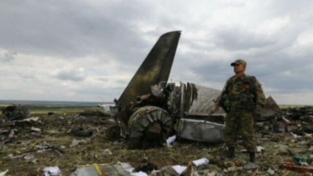 """Separatyści zestrzelili ukraiński samolot.  Poroszenko zapowiada """"stosowną odpowiedź"""""""