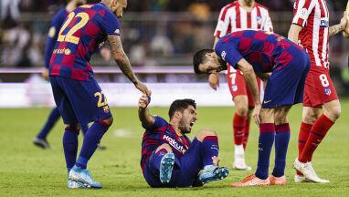 Poważny problem mistrzów Hiszpanii. Długa przerwa Luisa Suareza