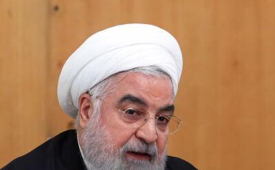 Prezydent Iranu po zestrzeleniu ukraińskiego samolotu
