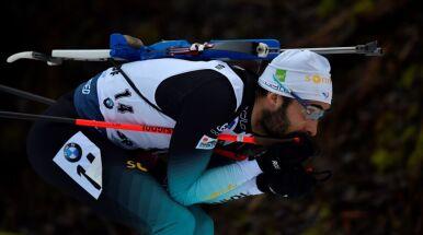 Fourcade wygrał sprint w Oberhofie. Kuriozalna wpadka wicelidera