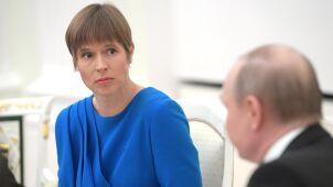 Media: prezydent Estonii dostała od Rosjan trzy prezenty. Jeden zwróciła